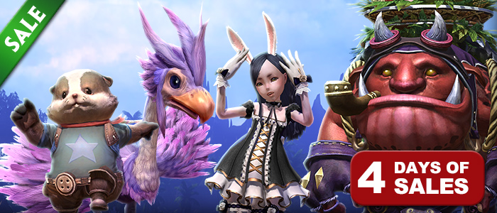 Celebrate TERA's Second Anniversary with Pets for Your TERA Gold Hunter