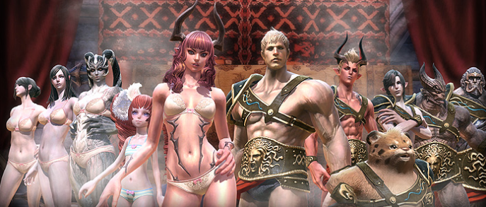 tera gold for hot and sexy armor