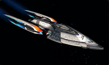 hestia starship for collecting sto credits