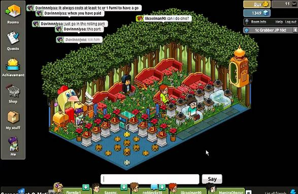 play grabber game for habbo credits