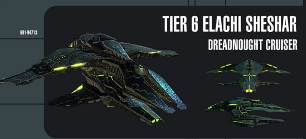 new elachi tier 6 for hunting sto credits