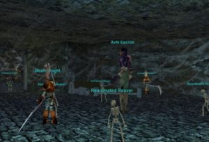 everquest platinum hunting in crypt of decay