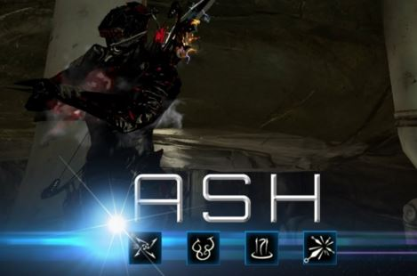 warframe items with ash